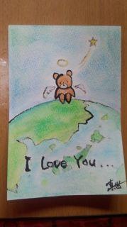 I Love You ...(地球とくまたん)M